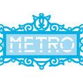 Tonic Studios Rococo Die-Ornate Metro Sign