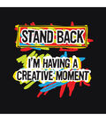 Attitude Artist Apron Black-Creative Moment
