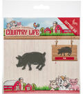 Find It Yvonne Creations Country Life Die-Pig
