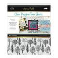 Deco Foil Clear Toner Sheets 8.5\u0022X11\u0022 4/Pkg-Wilderness