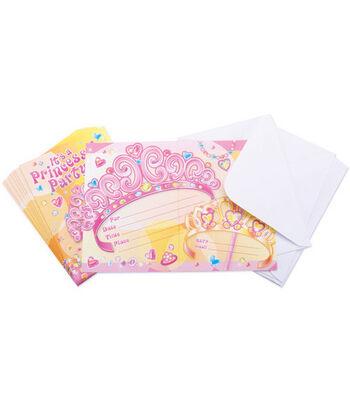 Invitation & Envelope Kit-8PK/Pretty Princess