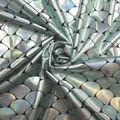 Yaya Han Cosplay Stretch Oil Slick Fabric -Blue Mermaid