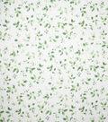 Premium Cotton Fabric 44\u0022-Crisp Vines Green