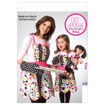 Kwik Sew Mother & Daughter Aprons-K0124