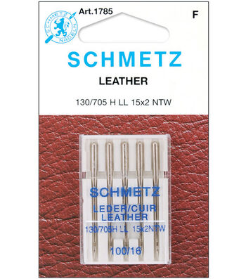 Schmetz Leather Machine Needles 5/Pk-Size 16/100