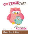 CottageCutz Die-Mama Owl & Baby 2\u0022X2\u0022