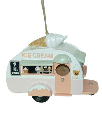 In the Garden Truck Bird House-Ice Cream
