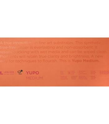 Legion Paper Yupo 10-sheet 6''x15'' 74 lb Medium Pad-White