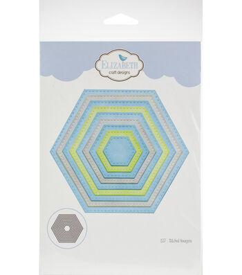 Elizabeth Craft Metal Die-Stitched Hexagons