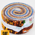 Pre-Cut Fabric-Cat Buildin\u0027 Crew by Riley Blake