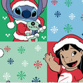 Disney Lilo & Stitch Christmas Fleece Fabric-Ugly Sweater