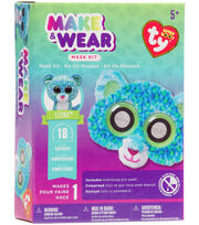Ty Beanie Boos Make & Wear Mask Kit-Leona The Leopard, , hi-res