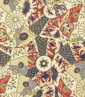 Williamsburg Upholstery Fabric 54\u0022-Imari/Jewel
