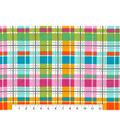 Snuggle Flannel Fabric 42\u0027\u0027-Multi Bright Plaid