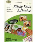 Sticky Dots Die-Cut Adhesive-12PK