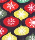 Maker\u0027s Holiday Fleece Fabric 59\u0022-Ornaments