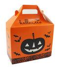 Cheer & Co. Halloween 2 pk Large Gable Boxes with Window-Pumpkin & Bats