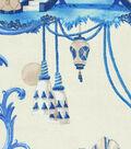 P/K Lifestyles Upholstery Fabric 54\u0027\u0027-Porcelain East of the Moon