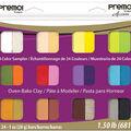 Premo Clay Sampler Pack 1oz 24/Pkg Assorted Colors