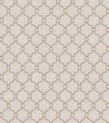 Eaton Square Lightweight Decor Fabric 53\u0022-Text Book/Grey