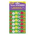 Trend Enterprises Inc. Star Sports Sparkle Stickers, 72 Per Pack
