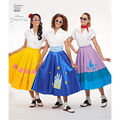 Simplicity Pattern 8628 Misses\u0027 Disney Character Skirts-Size H5 (6-14)