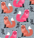 Snuggle Flannel Fabric 42\u0022-Ombre Tonal Fox