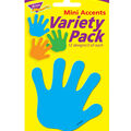 Handprints Mini Accents Variety Pack, 36 Per Pack, 6 Packs