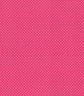 Babyville Boutique Sassy Girl Fabric 64\u0027\u0027-White Dots on Pink