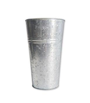 Tall Galvanized Bucket