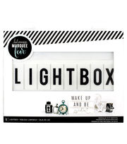 Heidi Swapp Battery Operated Lightbox-White, , hi-res