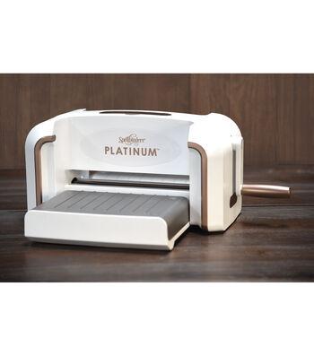 Spellbinders Platinum's  VersaCut™ Cut & Emboss Machine