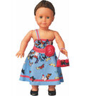 Vervaco Dress Your Doll Making Couture Outfit Set-Nataly Flowers