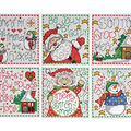 Design Works Counted Cross Stitch Ornament Kit-Merry Stitchmas