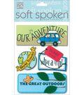 me & my BiG Ideas Soft Spoken Embellishments-A Kid\u0027s Vacation