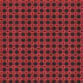 Super Snuggle Flannel Fabric-Camping Red Black Buffalo Check