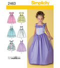 Simplicity Pattern 2463AA 3-4-5-6 -Simplicity Child
