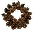 Handmade Holiday Christmas Homestead Pinecone Mini Wreath
