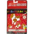 Melissa & Doug On The Go Scratch Art Animal Families Hidden Picture Pad