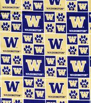 "University of Washington Huskies Cotton Fabric 43""-Block, , hi-res"