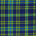 Super Snuggle Flannel Fabric-Navy Green Plaid
