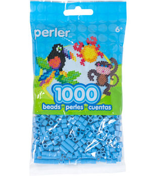 Perler 1000 Count Bead Bag-Pastel Blue