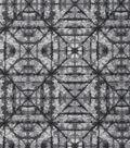 Keepsake Calico Cotton Fabric 43\u0027\u0027-Gray Tonal Geometric Diamond