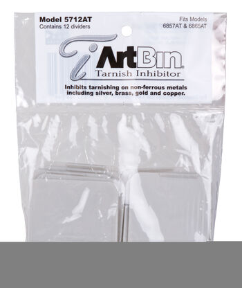 ArtBin 12 pk Anti-Tarnish Dividers