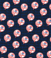 New York Yankees Cotton Fabric -Mini Print, , hi-res