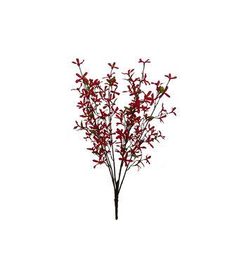 Fresh Picked Spring 29'' Forsythia Bush-Red