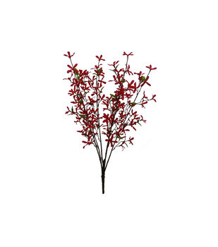 Fresh Picked Spring 29'' Forsythia Bush-Red