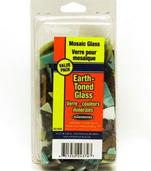Earth Tone Mosaic Stained Glass