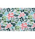 No Sew Fleece Throw 72\u0027\u0027-Watercolor Floral