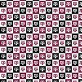 Texas A&M University Aggies Cotton Fabric-Collegiate Checks